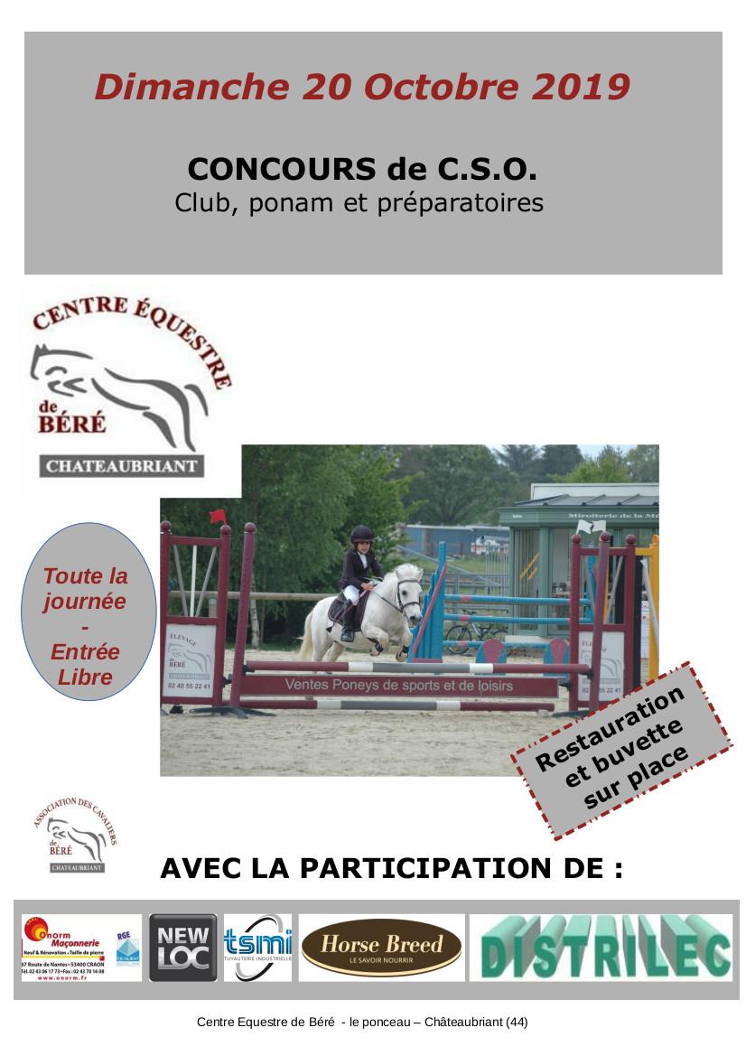 Concours CSO